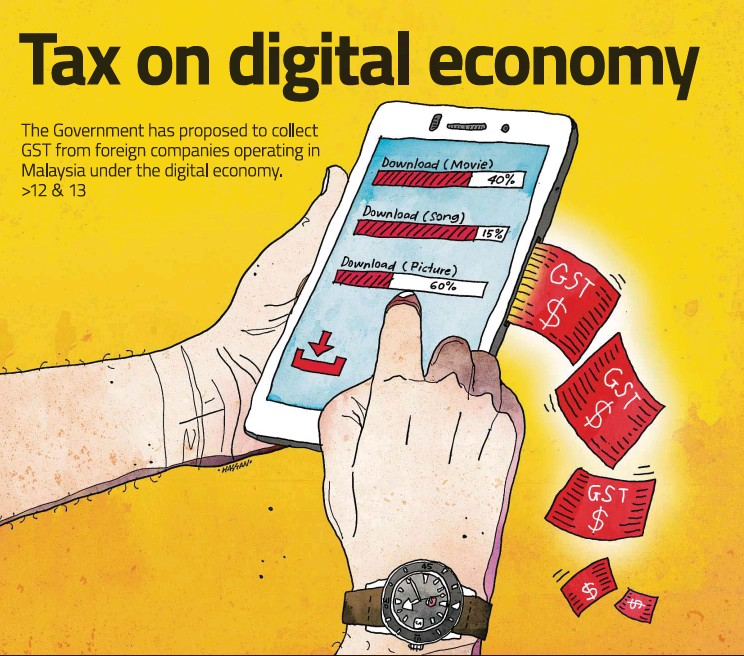Taxation Of The Digital Economy By John L. Esfandiari